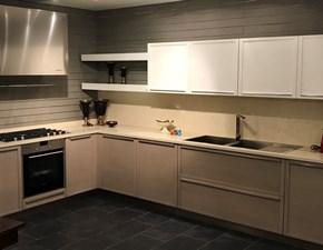 Cucina Telayo moderna grigio ad angolo Oldline