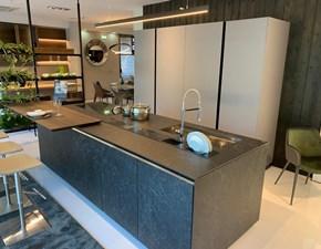 Cucina Telero  design altri colori ad isola Euromobil