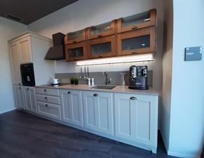 Cucina tortora classica lineare Favilla Scavolini in Offerta Outlet