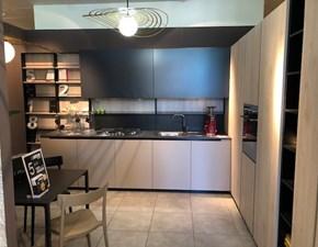 Cucina tortora design ad angolo Cucina lab 13 Aran cucine in Offerta Outlet