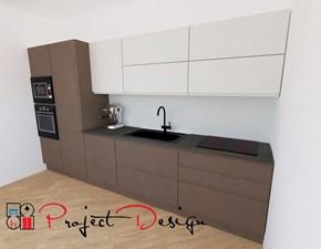 Cucina tortora design lineare Line Astra