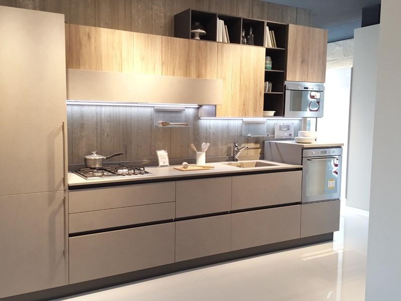 Cucina Start Time Veneta Cucine.Cucina Tortora Design Lineare Start Time Veneta Cucine