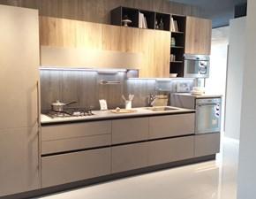 Cucina tortora design lineare Start time  Veneta cucine