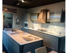 Cucina tortora industriale ad isola Milano Berloni cucine in offerta