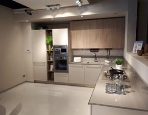 Cucina tortora moderna ad angolo Cucina modello ethica dek Veneta cucine in Offerta Outlet