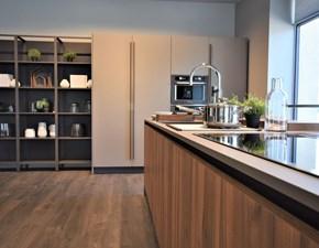 Cucina tortora moderna ad isola Kalì Arredo3 in offerta