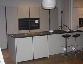 Cucina tortora moderna ad isola Xp Zampieri cucine in Offerta Outlet