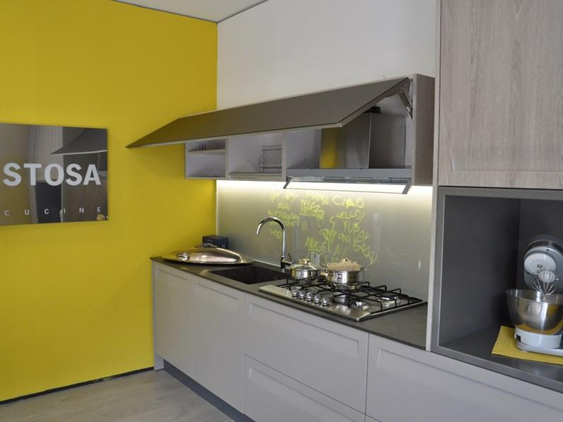 Cucina Moderna Tortora.Cucina Tortora Moderna Lineare Rewind Stosa Cucine