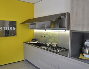 Cucina tortora moderna lineare Rewind Stosa cucine