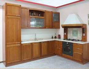 Cucina U805 arco classica ciliegio ad angolo Artigianale