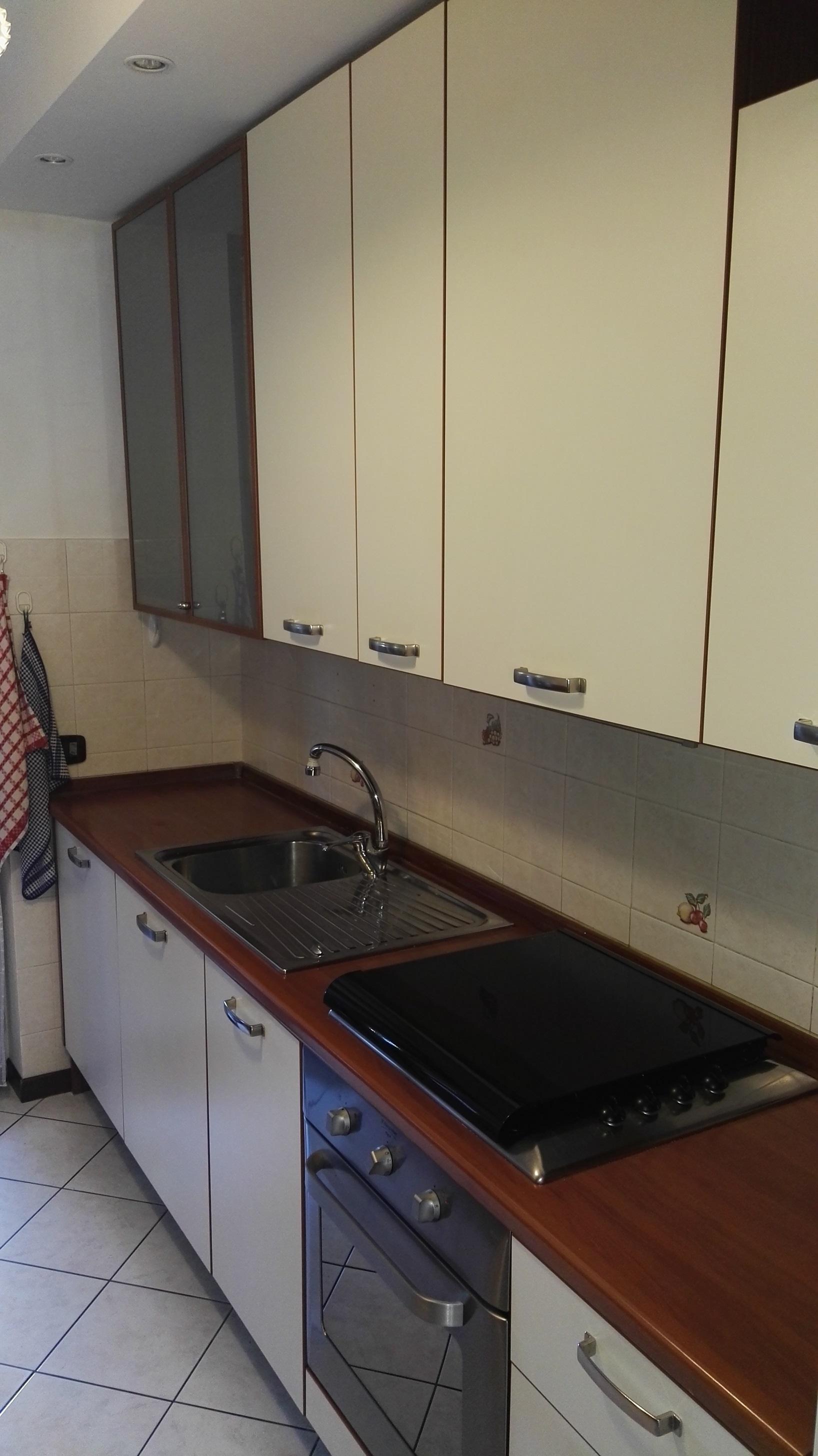 Cucina Aran Cucine Usata laminato beige - Cucine a prezzi scontati
