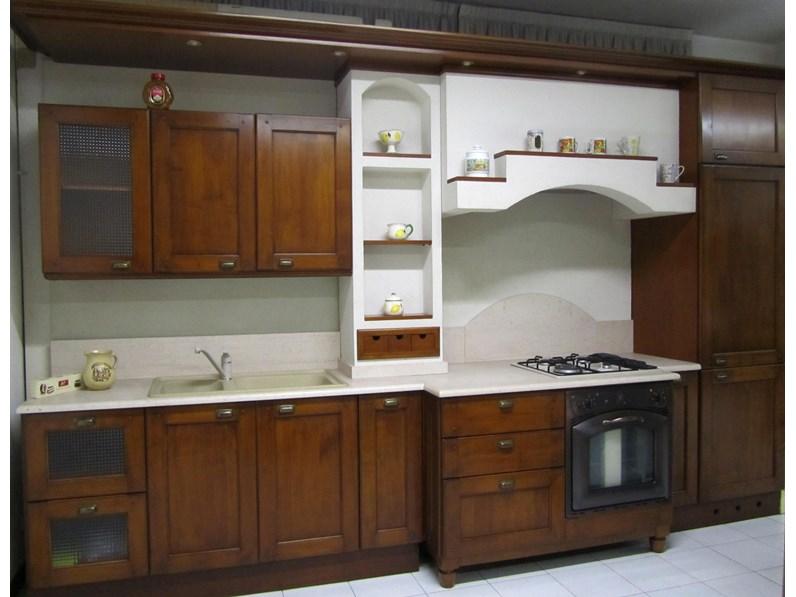 Cucina Uva fragola classica ciliegio lineare Bamax