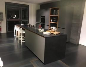 Cucina Valcucine moderna ad isola grigio in laminato opaco Forma mentis