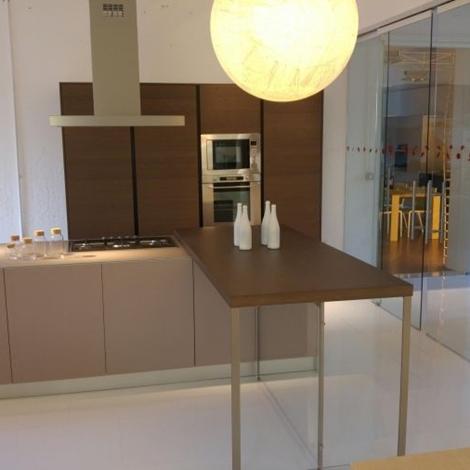 Cucina Valcucine Demode Forma Vetro Opaco Scontata - Cucine a prezzi scontati