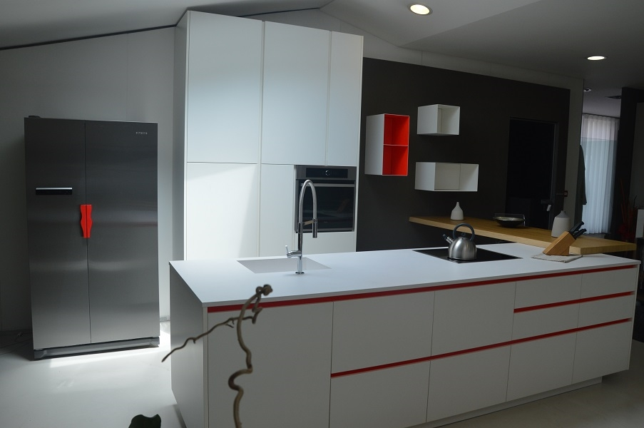 Cucina varenna alea design bianca scontata cucine a prezzi scontati - Cucine varenna prezzi ...
