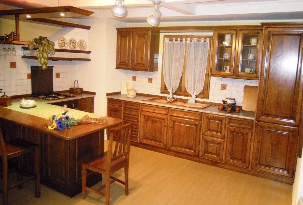 Cucina vecchia brianza rovere cucine a prezzi scontati for Outlet arredamento brianza