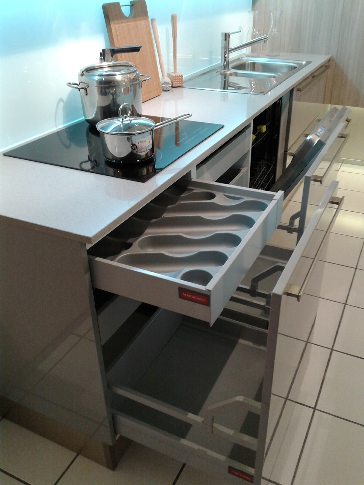 cucina veneta cucine carrera go plus laccato lucido - cucine a ... - Veneta Cucine Modello Carrera