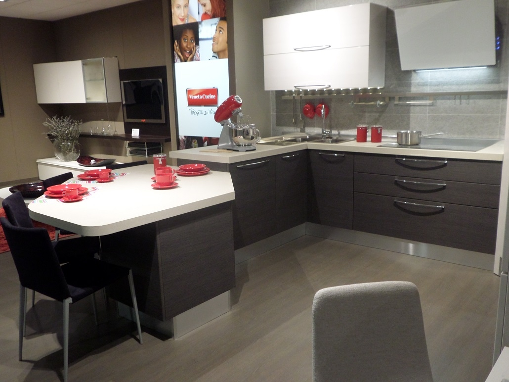 Veneta Cucine Modello Carrera Cucine A Prezzi Scontati #9D2E31 1030 772 Berloni O Veneta Cucine