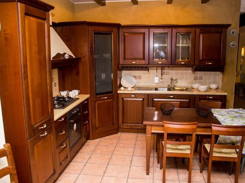 Cucina Veneta cucine classica ad angolo altri colori in legno Verdiana