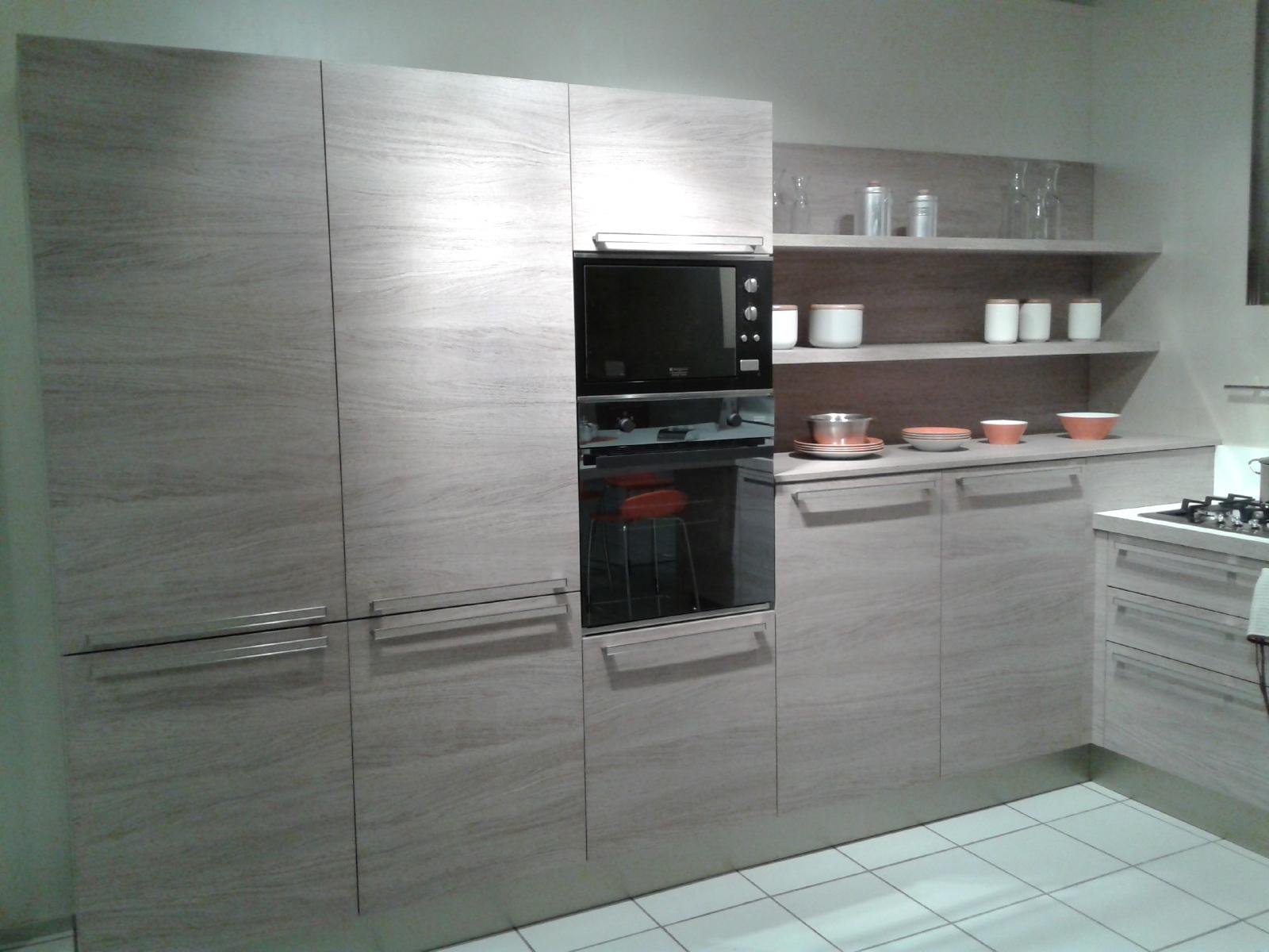 Cucina Veneta Cucine Ethica Decorativo Laminato Materico Cucine A  #785B53 1600 1200 Rivenditori Cucine Veneta