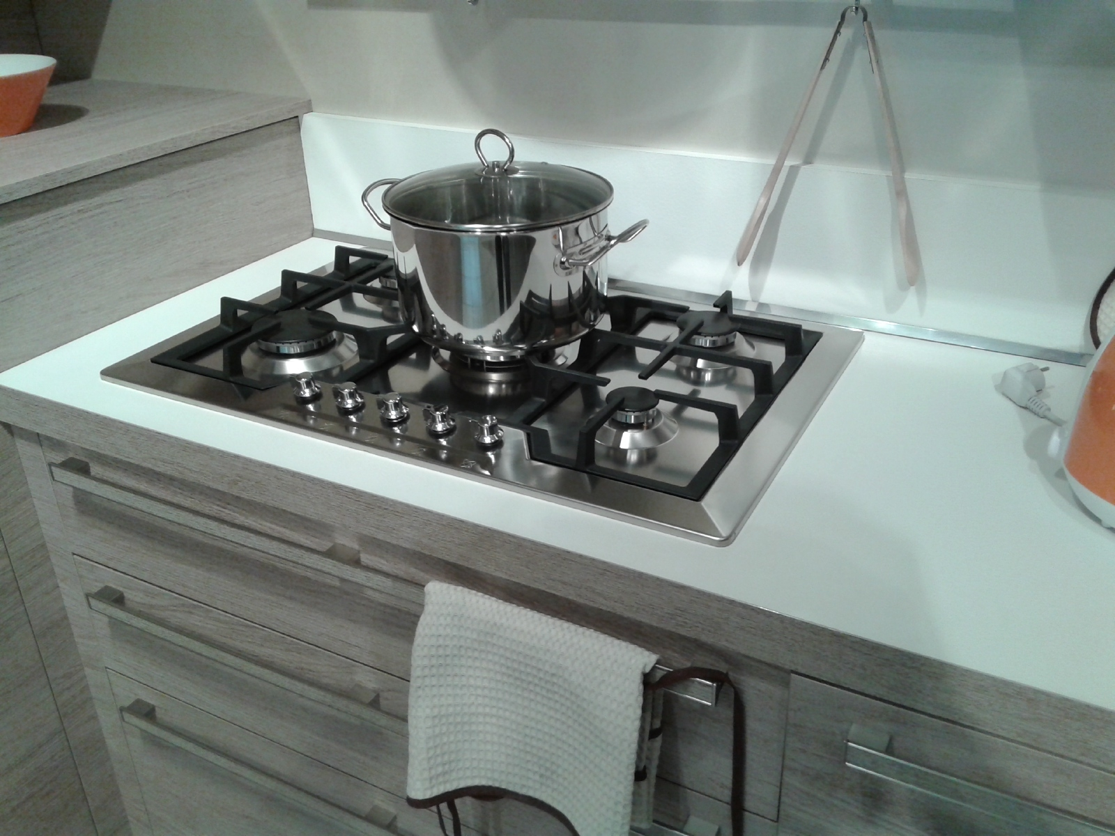Cucina Veneta Cucine Ethica Decorativo Laminato Materico Cucine A  #6E4837 1600 1200 Rivenditori Veneta Cucine Rovigo