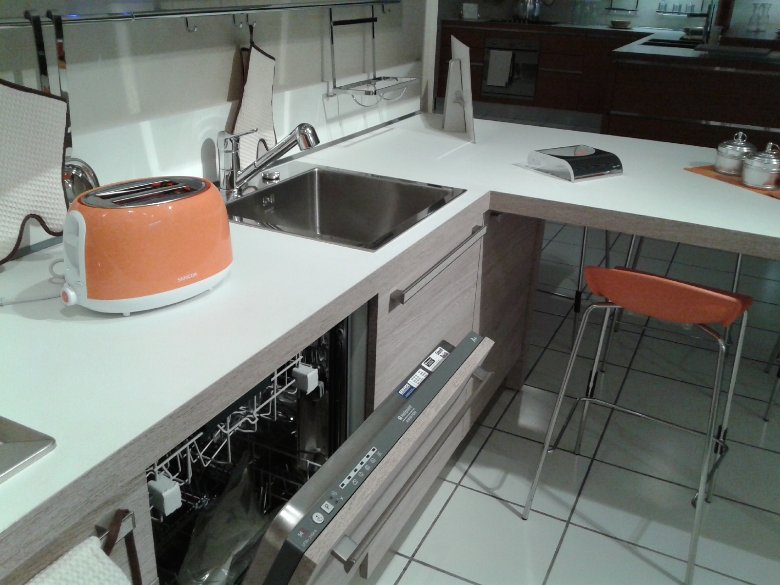 Cucina Veneta Cucine Ethica Decorativo Laminato Materico Cucine A  #9A5331 1600 1200 Veneta Cucine è Una Buona Marca