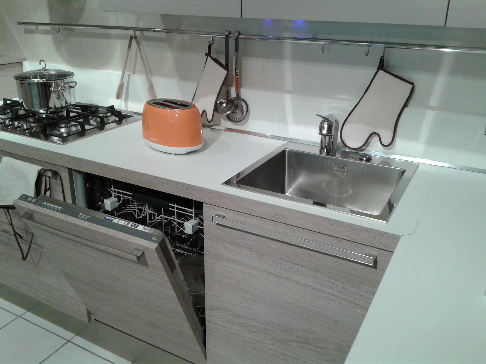 Cucina Veneta Cucine Ethica Decorativo Laminato Materico Cucine A  #945637 1600 1200 Veneta Cucine è Una Buona Marca