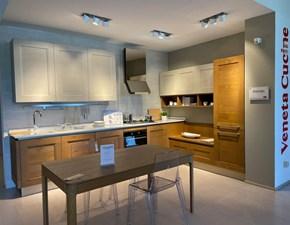 Cucina Veneta cucine moderna ad angolo rovere chiaro in legno Dialogo