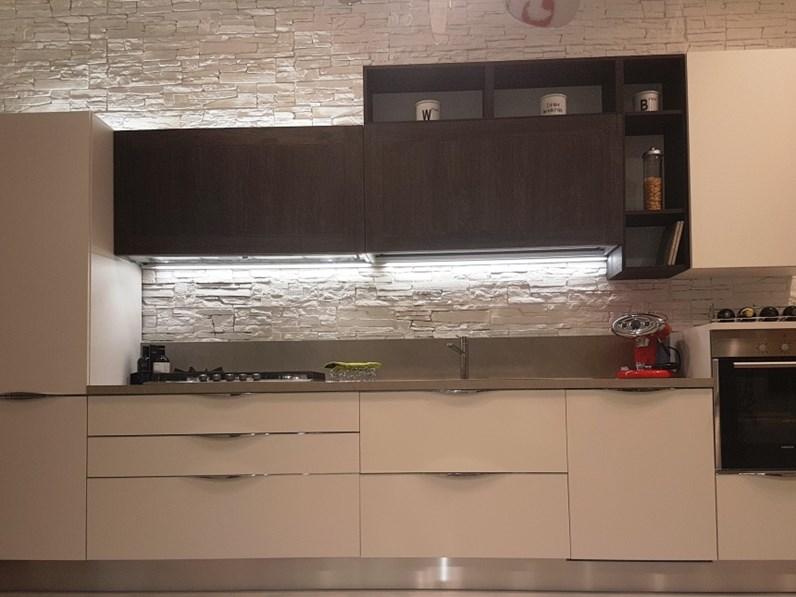 Cucina veneta cucine moderna lineare bianca in laminato - Veneta cucine ethica ...