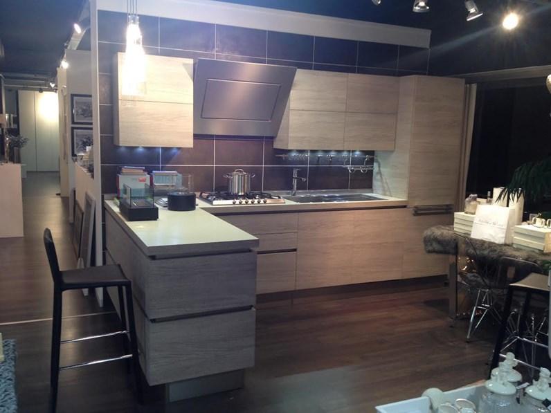 Cucina Veneta Cucine Oyster decorativo scontato del -53 %
