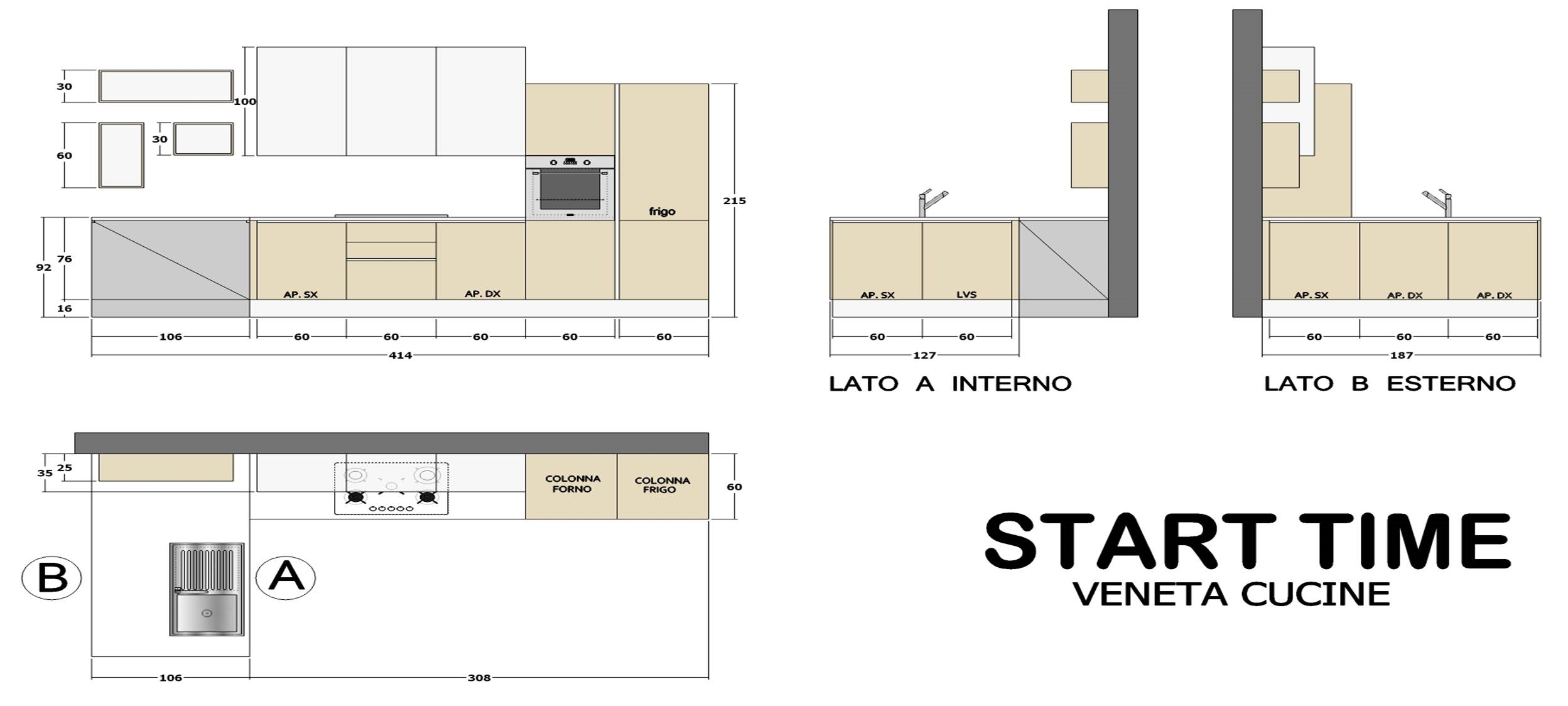 Cucina Veneta Cucine Start time scontata del 40%
