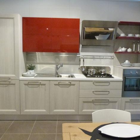 Veneta cucine moderna in laminato rovere link e laccato - Anta cucina laminato ...