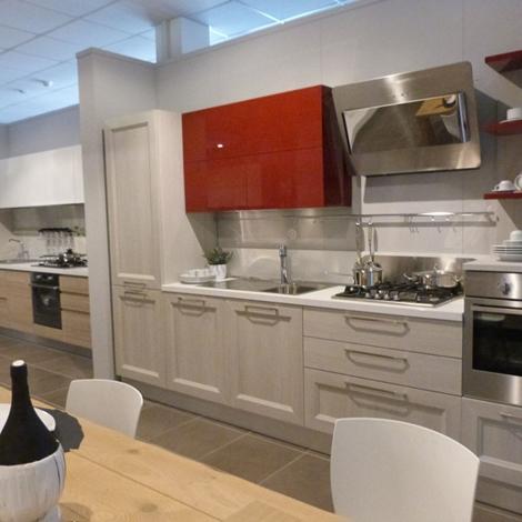 Veneta Cucine Moderna In Laminato Rovere Link E Laccato