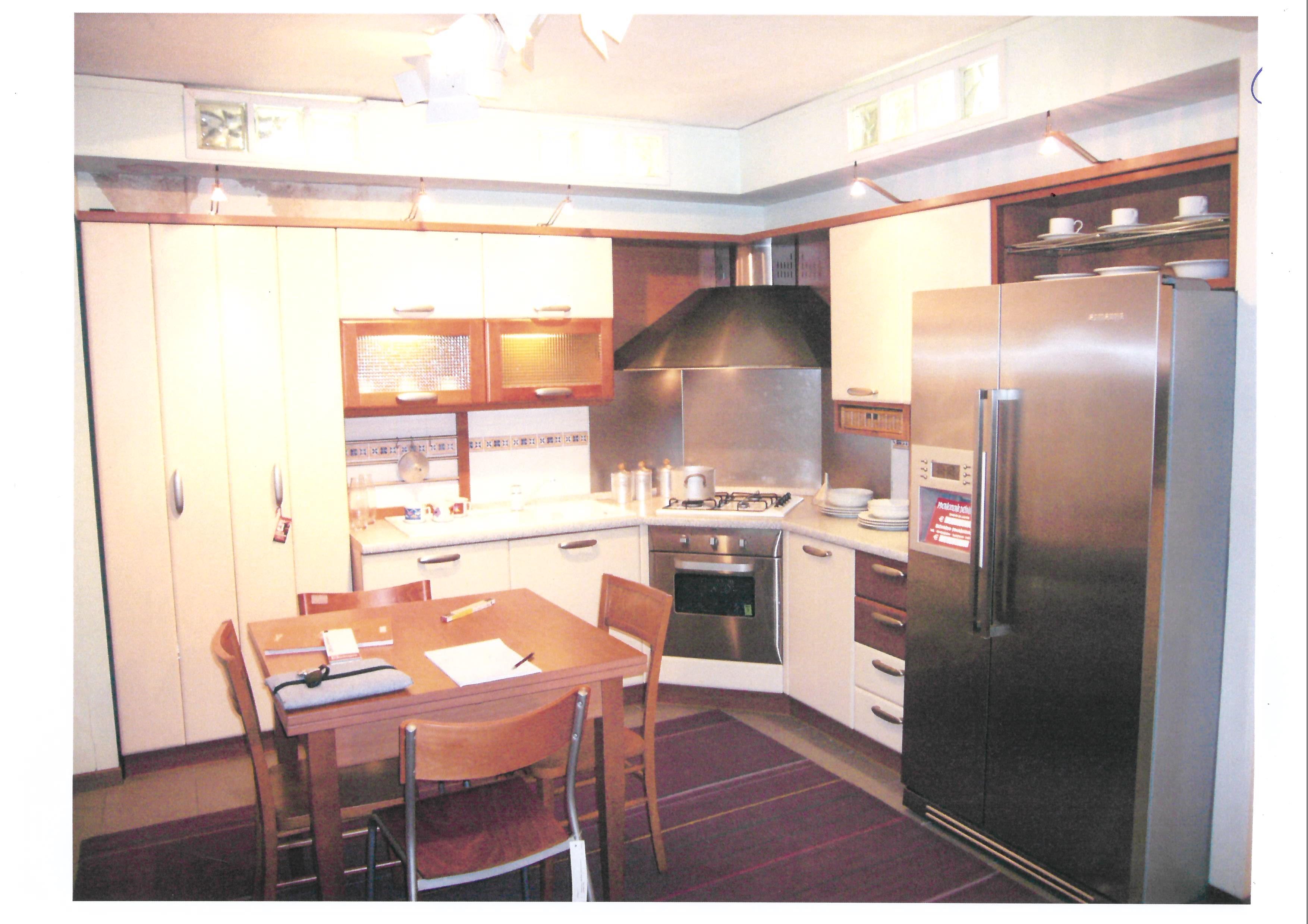 Cucina veneta cucine meridiana moderna laminato opaco magnolia cucine a prezzi scontati - Cucine ciliegio moderne ...