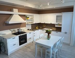 Cucina Venezia  classica bianca ad angolo Forma 2000