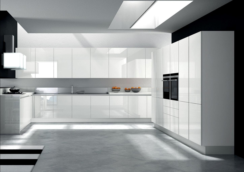 Cucina vetro 2 7682 cucine a prezzi scontati - Top cucina in vetro ...