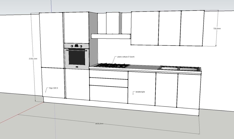 Tortora disegno cucina : cucina vetro 2 - Cucine a prezzi scontati