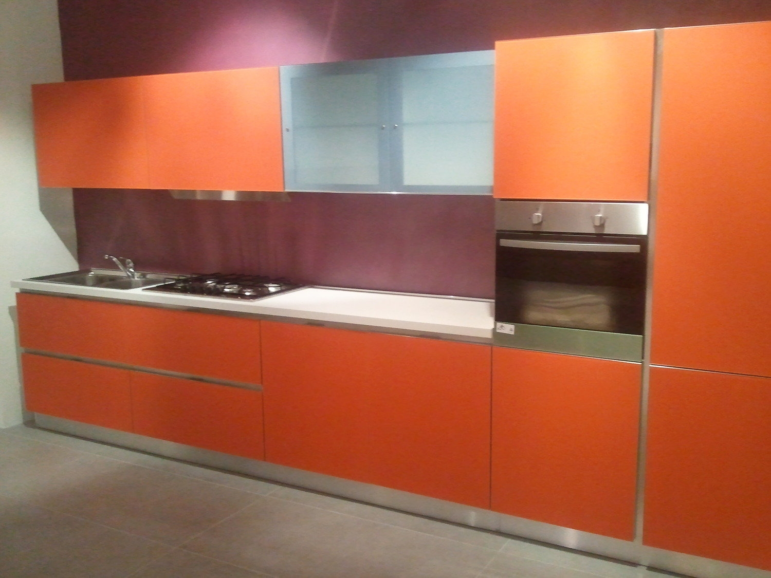 Schienale cucina in vetro gallery of start slideshow with - Schienale cucina in vetro temperato ...