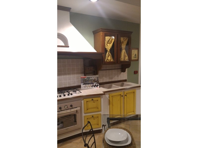Offerta sconto 57 cucina vittorina in massello e finta muratura - Cucine in finta muratura in offerta ...