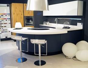 Cucina Volare design bianca con penisola Aran cucine