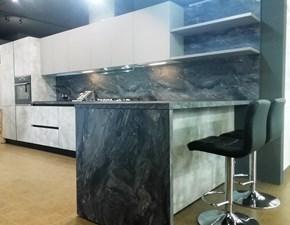Cucina Voque  moderna tortora ad angolo Atra