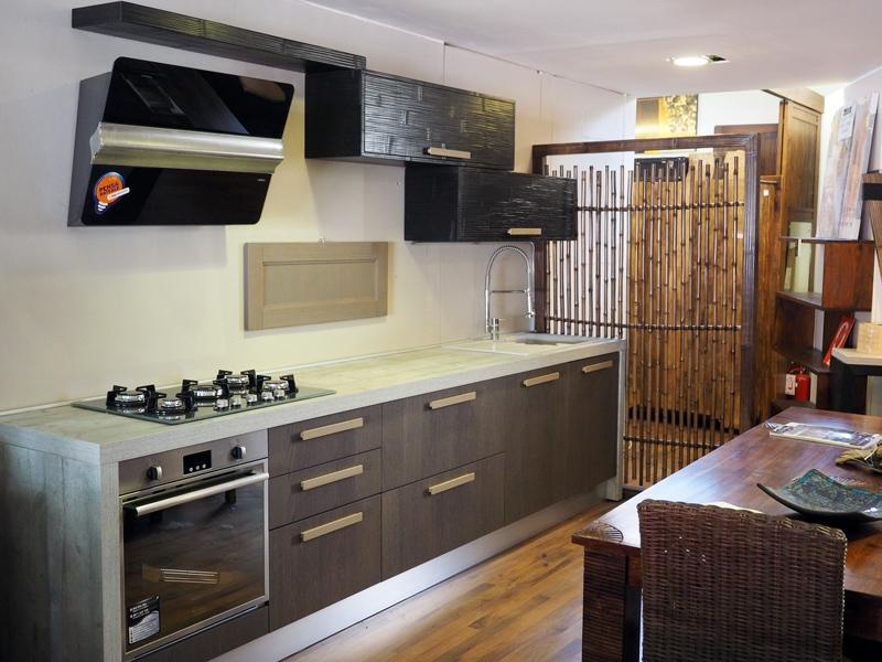 Cucina wood bambu 39 20432 cucine a prezzi scontati - Cucine etniche arredamento ...