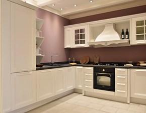 Cucina Ylenia design bianca ad angolo Aran cucine