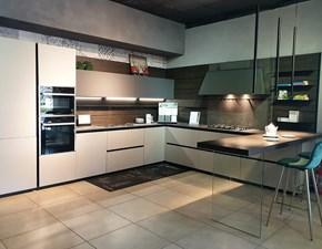 Cucina Z6 design altri colori ad angolo Arredo3