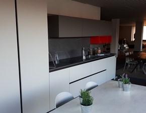 Cucina Z6 moderna grigio lineare Arredo3