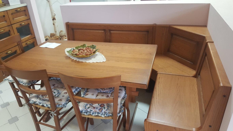 Cassapanca Con Tavolo. Tavolo E Panca Mod Tetrix In Legno Massello ...