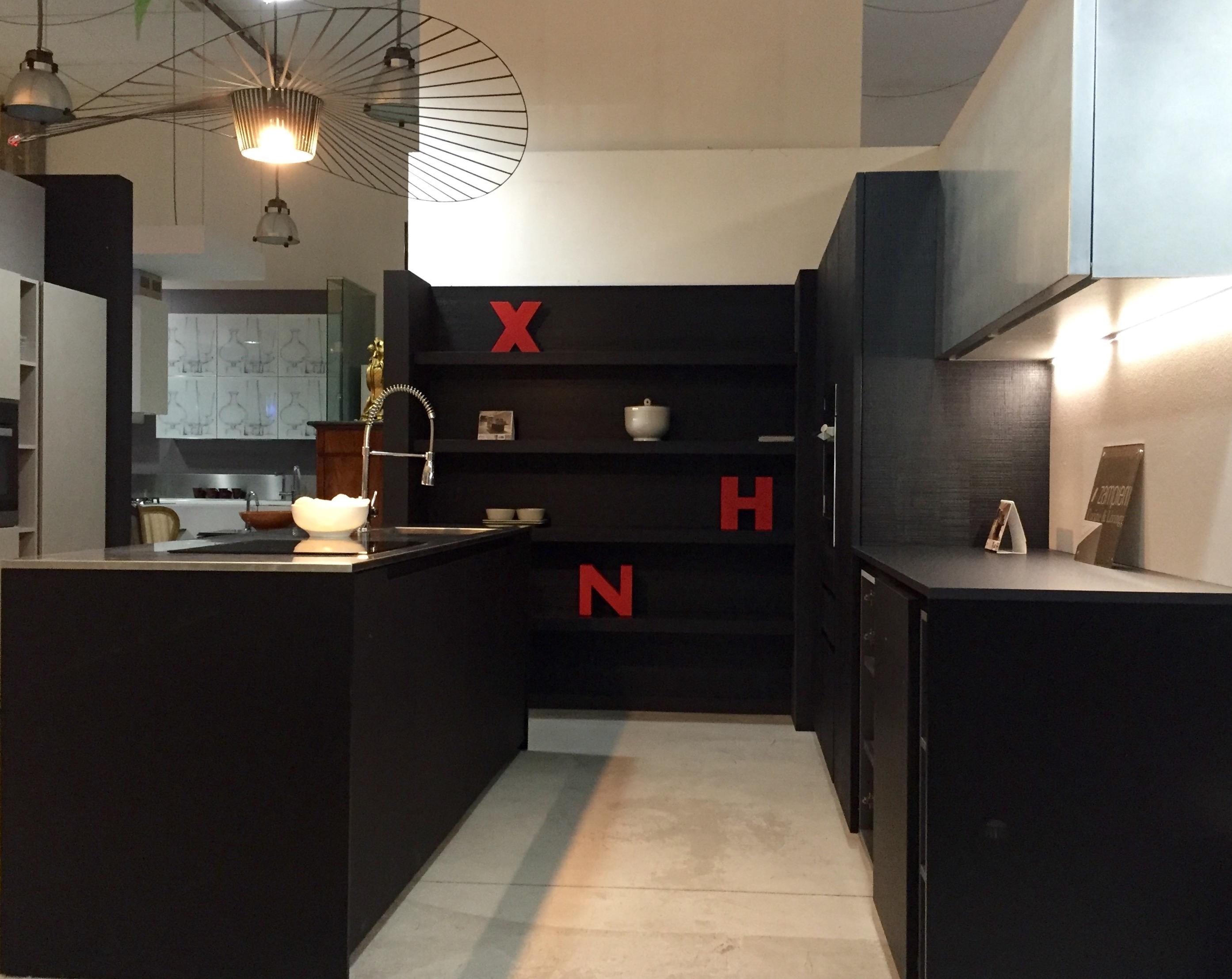 Cucina zampieri in legno rovere nero vintage dogato e - Cucine zampieri prezzi ...