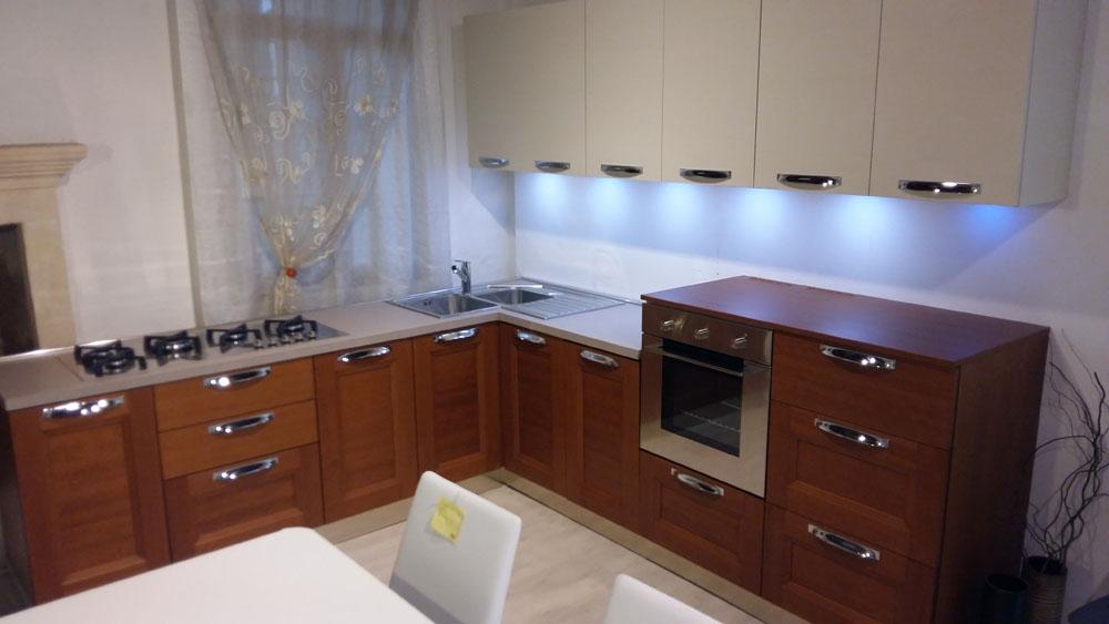 Cucina zanotto zecchinon moderno legno ciliegio cucine a prezzi scontati for Cucine moderne color ciliegio
