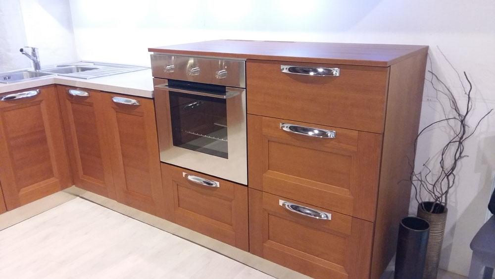 Cucina zanotto zecchinon moderno legno ciliegio cucine a for Scrittoio ciliegio moderno