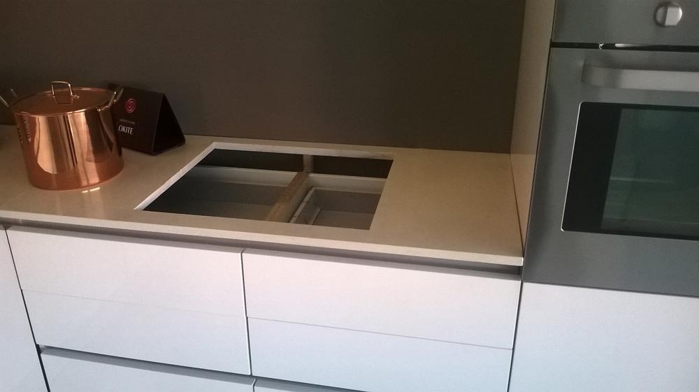 Cucina bianca laccata lucida idea creativa della casa e - Cucina bianca lucida ...